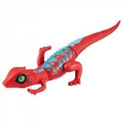 Juguete Reptil Robo Alive Lagartija Roja