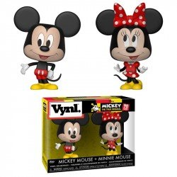 FUNKO POP MICKEY MOUSE  Y MINNIE MOUSE