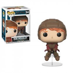 FUNKO POP HARRY POTTER: RON ON BROOM