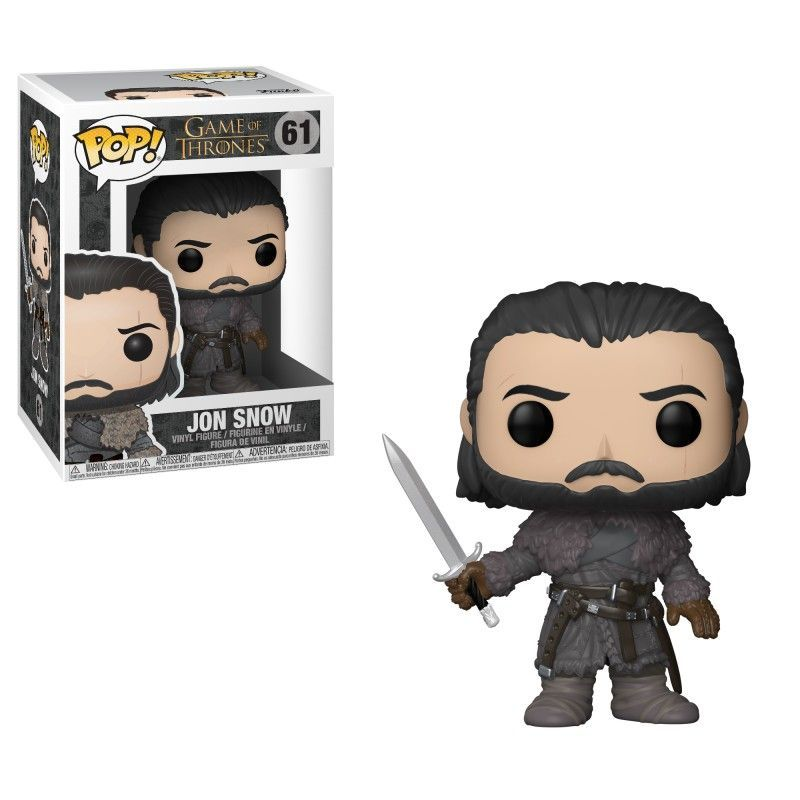 POP TV: GOT S8 - Jon Snow (Beyond the Wall)