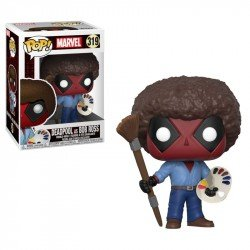FUNKO POP MARVEL: DEADPOOL PLAYTIME- BOB ROSS