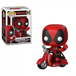 FUNKO POP RIDES: DEADPOOL - DEADPOOL & SCOOTER