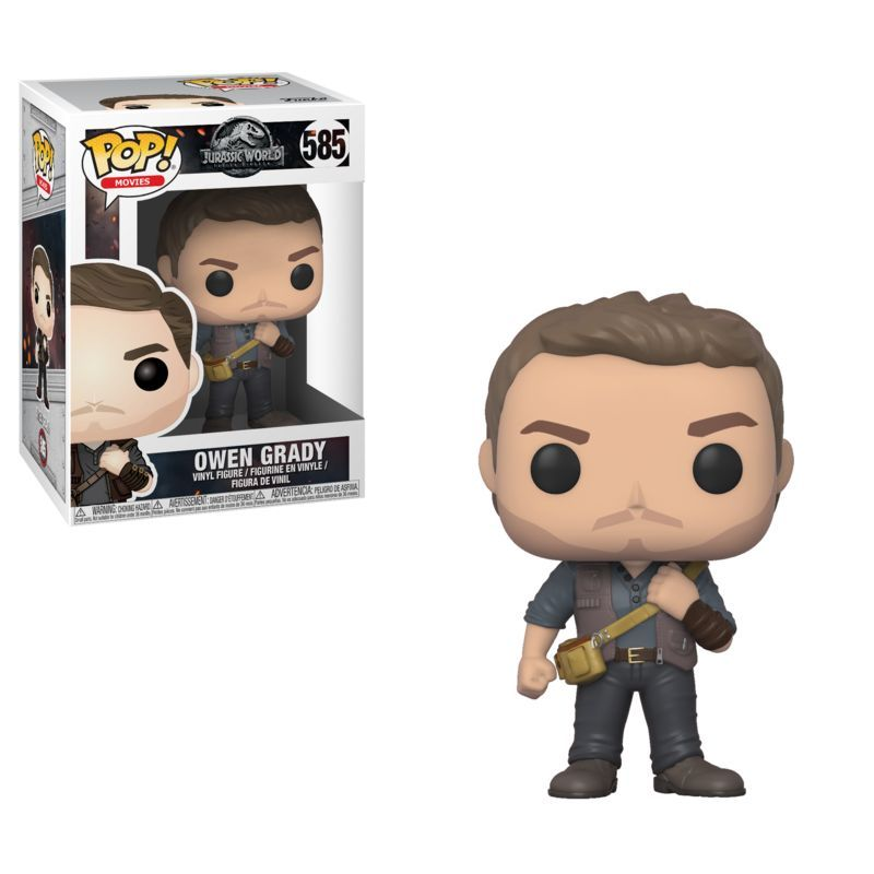 FUNKO POP MOVIES: JURASSIC WORLD 2 - OWEN