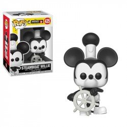FUNKO POP DISNEY: MICKEY'S 90TH - STEAMBOAT WILLIE