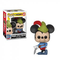 Funko 32189 Pop Disney Mickey'S 90Th  Brave Little Tailor