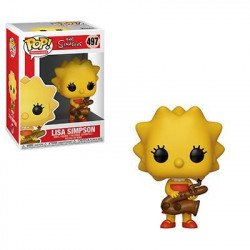 FUNKO  POP ANIMATION  SIMPSONS S2  LISA CON SAXOFON