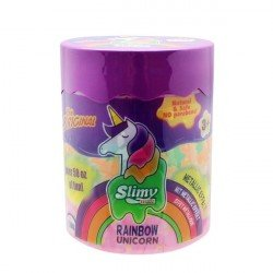 Bote de Slime Rainbow Unicorn Slimy Swiss