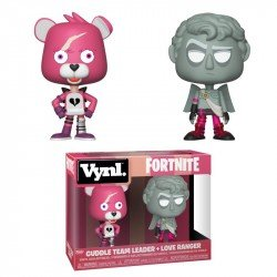 FUNKO POP FORTNITE CUDDLE TEAM LEADER  Y LOVE RANGER