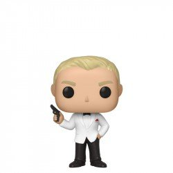 Funko 35925 Pop Movies James Bond S2  Daniel Craig  Spectre