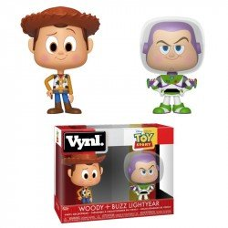 FUNKO POP TOY STORY:  WOODY Y BUZZ