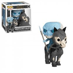 FUNKO  POP RIDES  GOT S10   WHITE WALKER ON HORSE