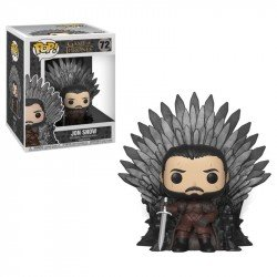FUNKO POP DELUXE: GOT S10 - JON SNOW SITTING ON IRON THR