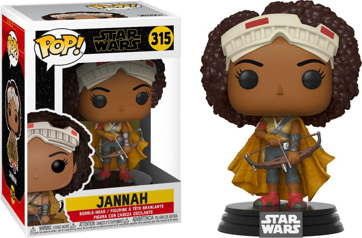Funko 39884 Pop Star Wars Rise Of Skywalker  Jannah