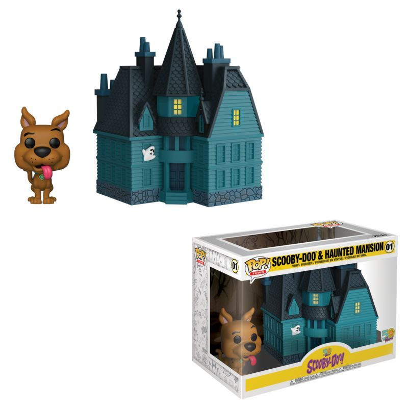 POP Town: Scooby Doo- Haunted Mansion