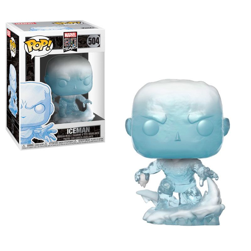 Funko 40717 Pop Marvel 80Th  First Appearance  Iceman