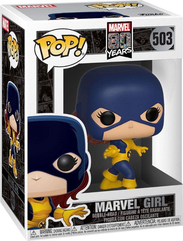 Funko 40718 Pop Marvel 80Th  First Appearance  Marvel Girl