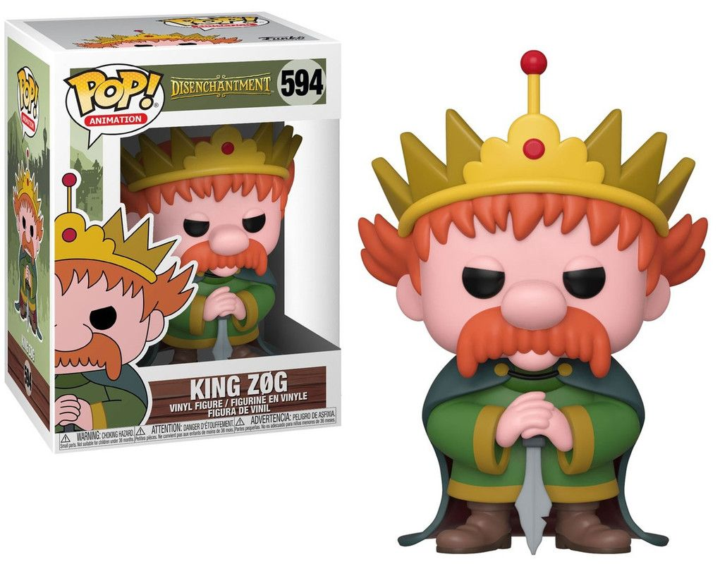 Funko 40879 Pop Animation Disenchantment King Zog