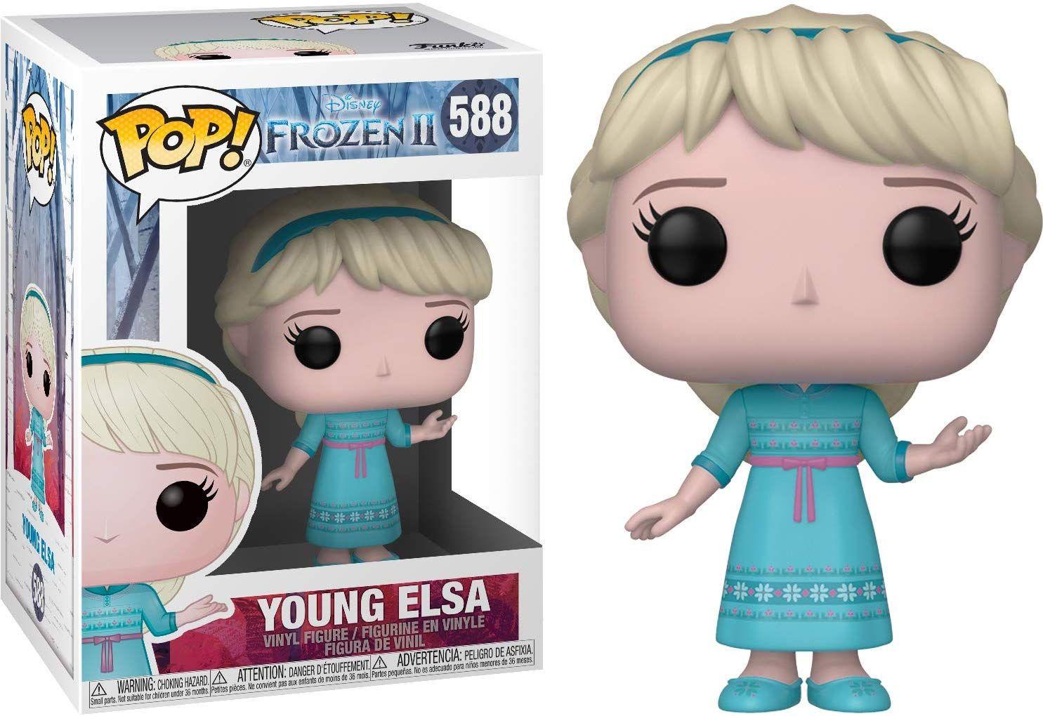 Funko 40888 Pop Disney: Frozen 2 - Young Elsa