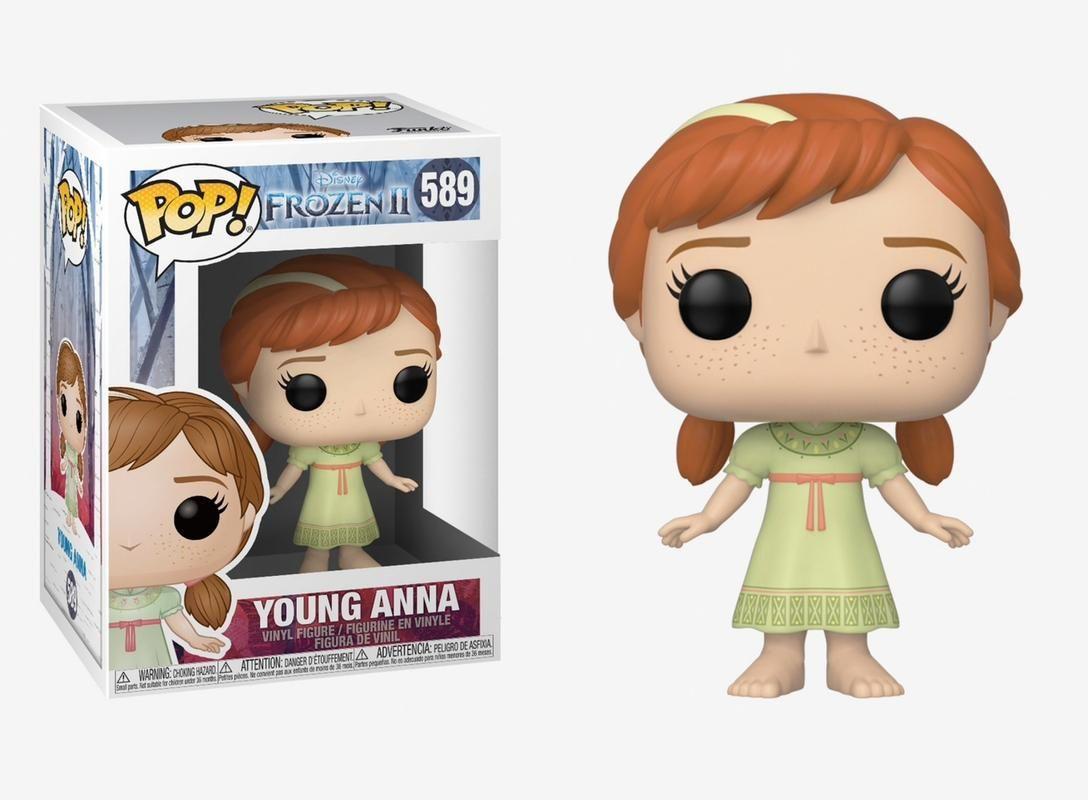 Funko 40889 Pop Disney: Frozen 2 - Young Anna