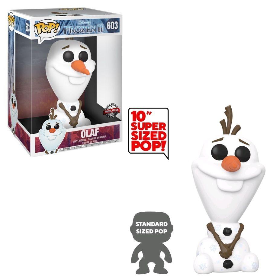 """Funko 42848 Pop Disney: Frozen 2 - Olaf 10"""""""
