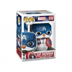 Funko 43335 Pop Marvel Holiday  Capt America