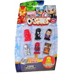 OOSHIES MARVEL PAQUETE DE 7 T1