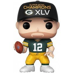 Funko POP! NFL: Packers Aaron Rodgers Sb Champions Xlv 44658