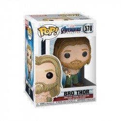 Funko 45142 POP Marvel: Endgame - Thor w/Pizza