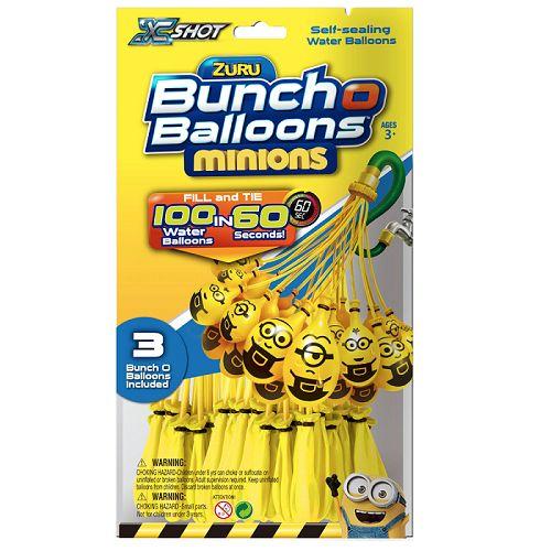 BUNCH O BALLOONS MINIONS PAQUETE DE 100