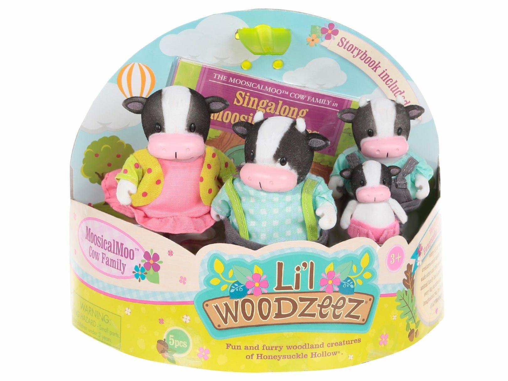 Li'l Woodzeez MoosicalMoo: Familia de Vacas