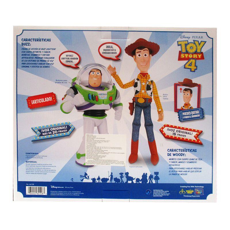 Figuras Parlantes de Woody y Buzz Toy Story 4