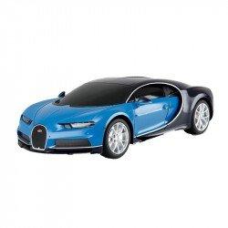 Bugatti Cheron a Escala 1:14 Con Control Remoto Azul
