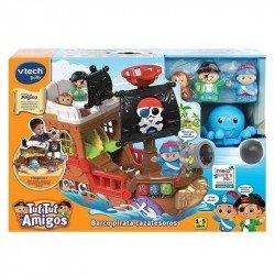Barco Pirata Cazatesoros Vtech
