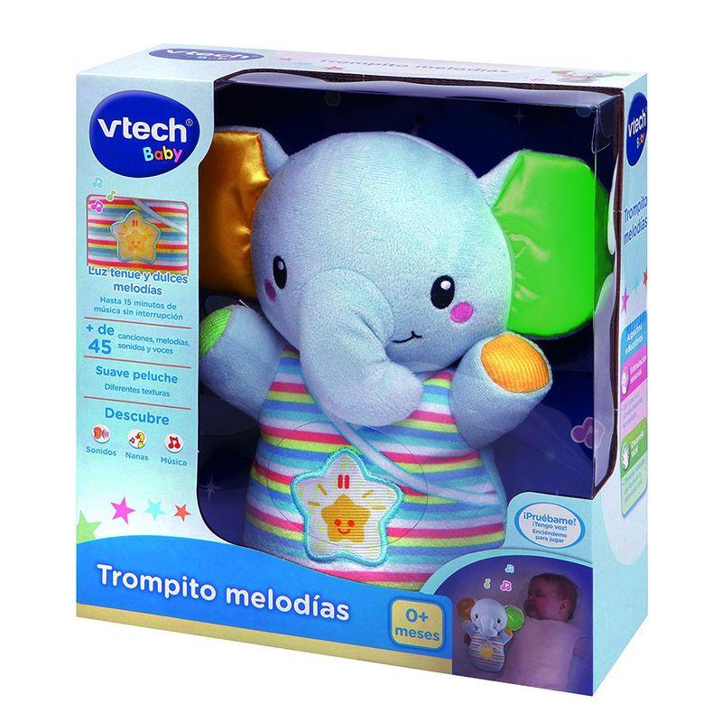 Peluche Interactivo Trompito Melodías 80-508622 Vtech
