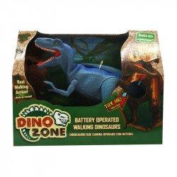 Dino Zone Dinosaurio Que Camina Juguetron Azul