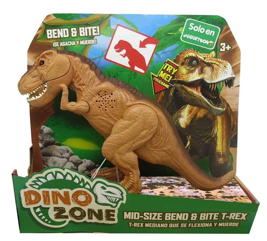 Dino Zone T-Rex Flexiona y Muerde Juguetron