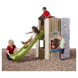 5033 2  STORY PLAYHOUSE AND SLIDE