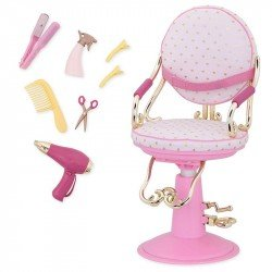 Our Generation BD37413Z Silla de Salon de Belleza