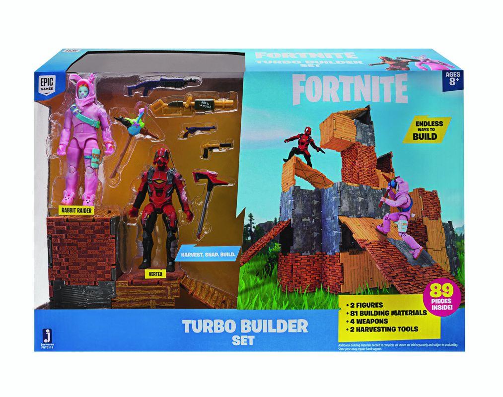 Fortnite Fnt0035 Fnt  2 Figure Pack Turbo Builder Set Assortment
