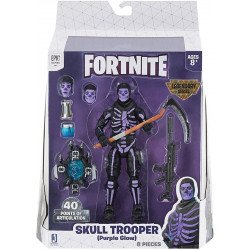 Figura de Accion Fortnite serie: Legendaria Skull Trooper.
