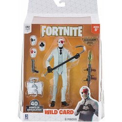 Figura de Acción Fortnite serie: Legendaria Wild Card