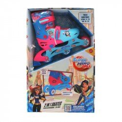 Patines 2 En 1 Dc Super Hero Girls