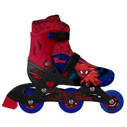 PATINES AJUSTABLES  2 EN 1 SPIDERMAN