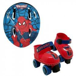 Combo Patines de Entrenamiento Spider-Man