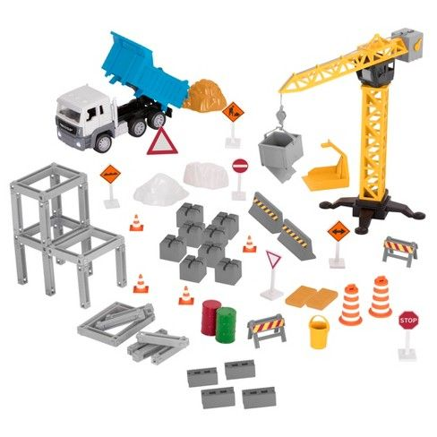 PLAYSET GRUA DE CONSTRUCCION